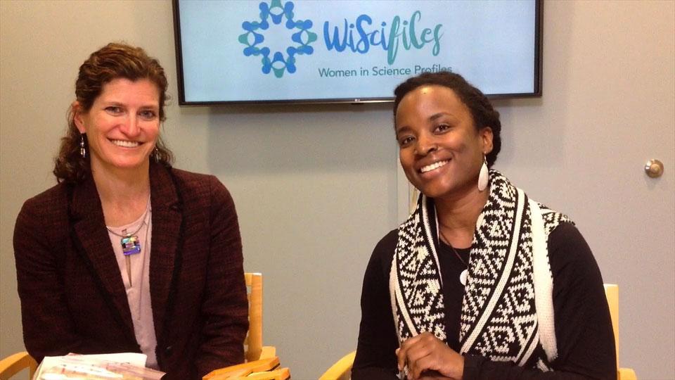 Erica Smithwick and Cheraine Stanford