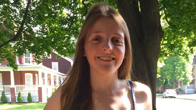 Essayist Katie DeFiore.