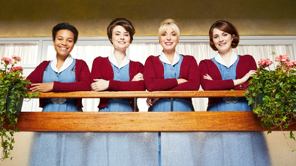 Leonie Elliott as Lucille, Jennifer Kirby as Valerie, Helen George as Trixie, Charlotte Ritchie as Barbara