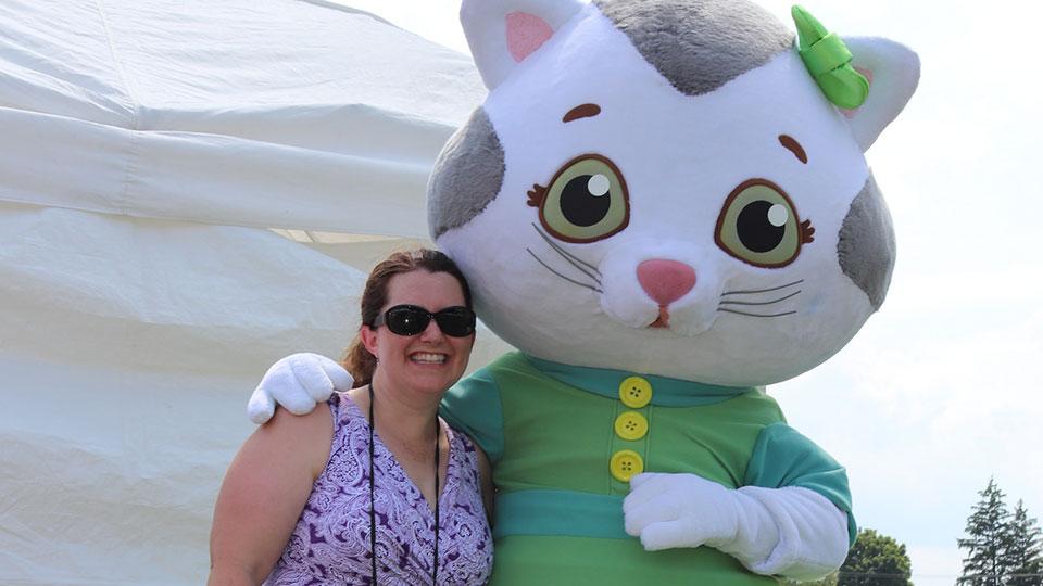 Katerina Kittycat Visits People's Choice Festival
