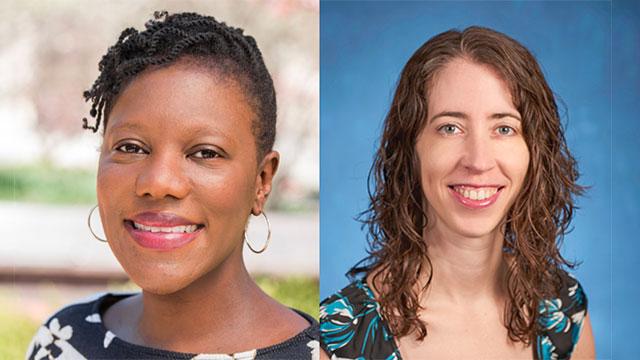 Penn State professors Crystal Sanders and Erica Frankenberg