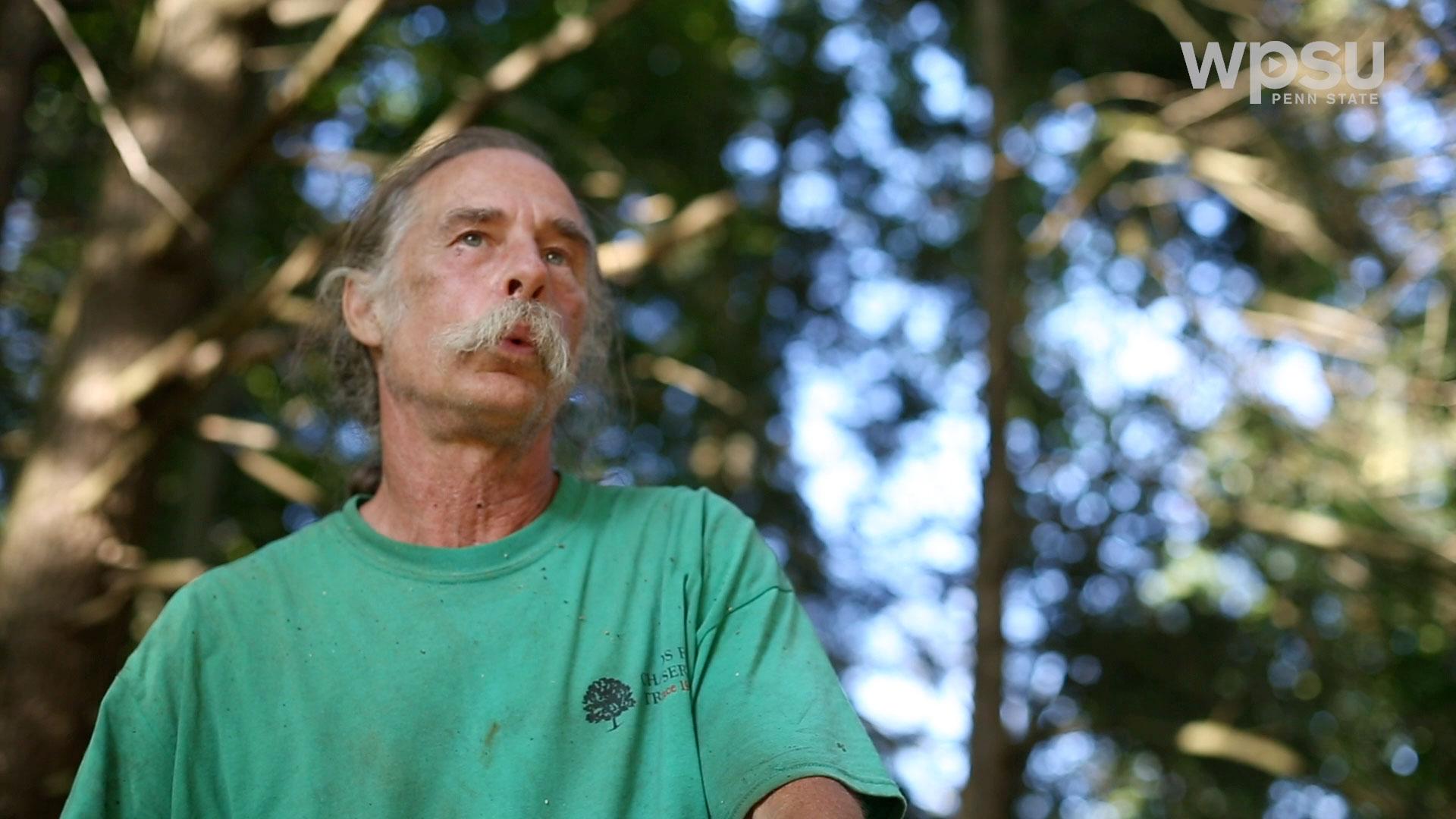Martin Melville whistling