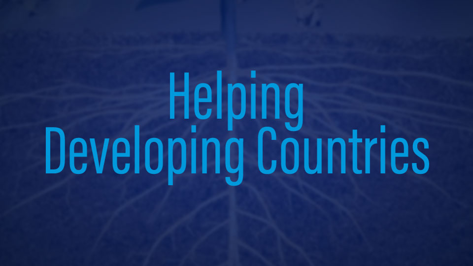Helping Developing Countries