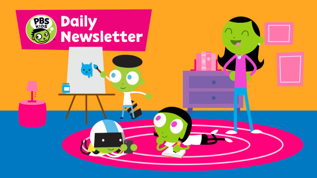 PBS Kids Daily Newsletter