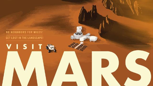 Visit Mars Book Cover