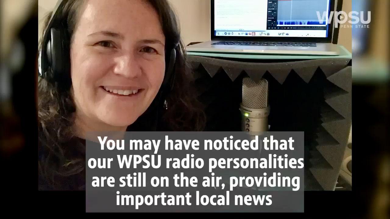 WPSU Radio From Home