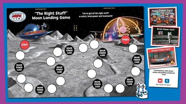 moon landing game