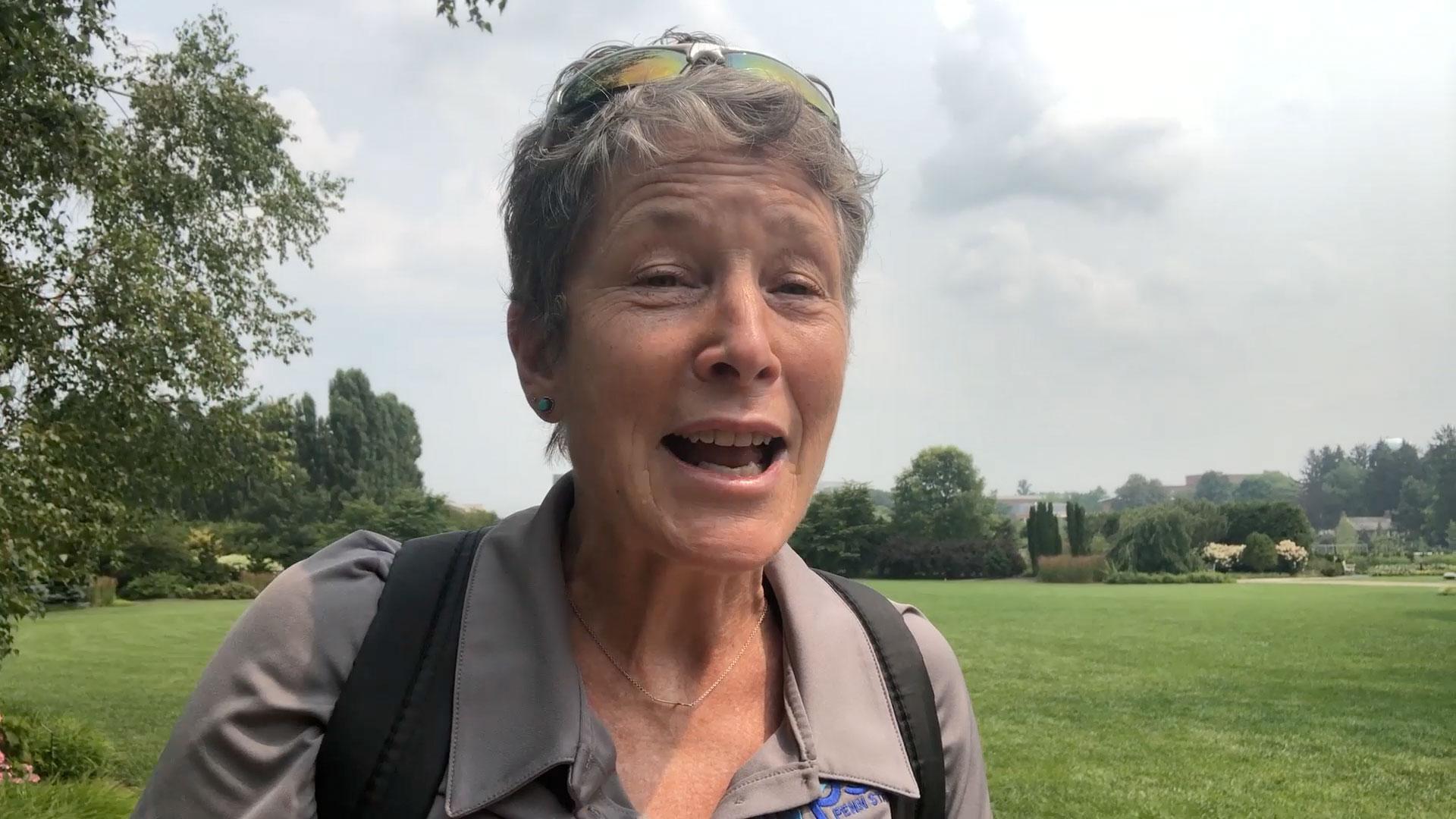 Carolyn at Arboretum
