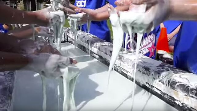 oobleck a slime substance